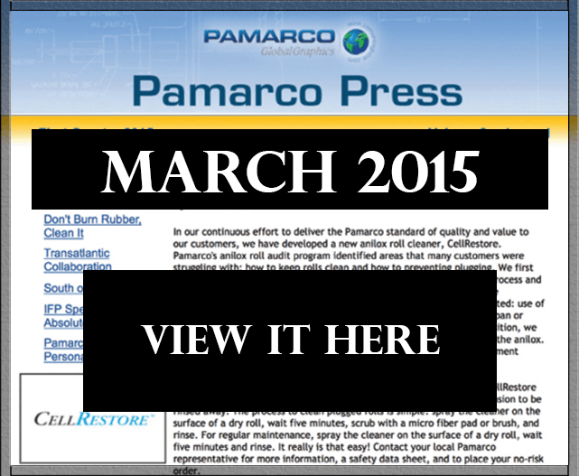 Newsletter Pamarco Press March 2015 - thumb