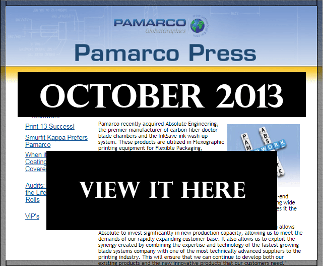 Newsletter Pamarco Press October 2013 - thumb