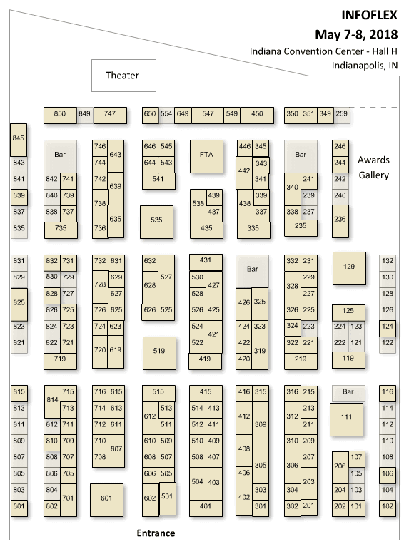 Indiana Convention Center Floor Plan